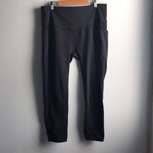 """Lululemon All The Right Places Crop II 23"""" black"""